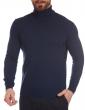 W. WEGENER 6926 kék férfi pulóver