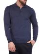 W. Wegener 6905 kék férfi pulóver