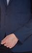 W. Wegener Nelson-2S 5149 kék férfi zakó