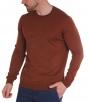 W. WEGENER 6922 barna férfi pulóver